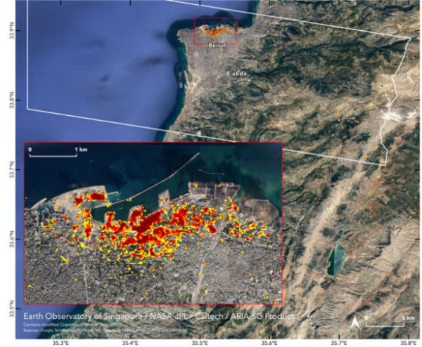 NASA Beyrut Limanı