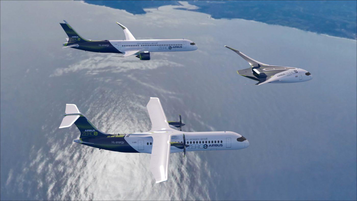 Airbus'tan sıfır emisyon konseptli 3 yeni uçak – Haber Aero | Havacılık,  Turizm ve Seyahat