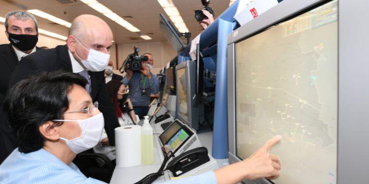 Bakan İsmailoğlu'ndan hava trafik kontrolörlerine ziyaret