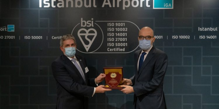 İstanbul Havalimanı'na 5 uluslararası sertifika
