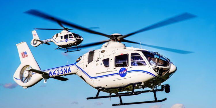 Airbus, NASA'ya iki H135 helikopteri teslim etti