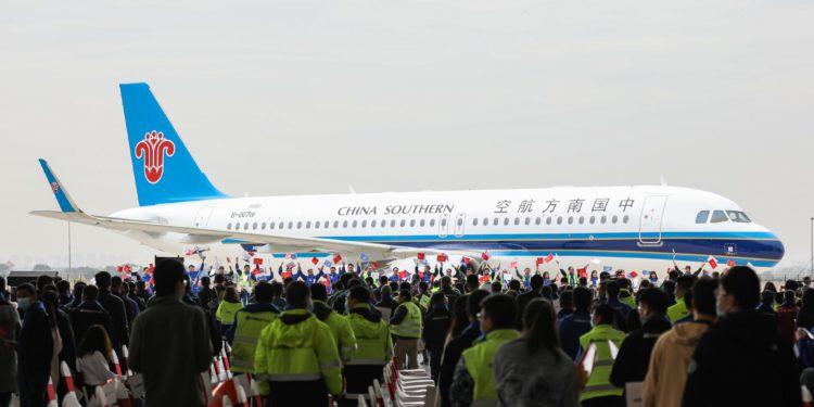 Airbus Çin'deki 500'ncü teslimatını yaptı