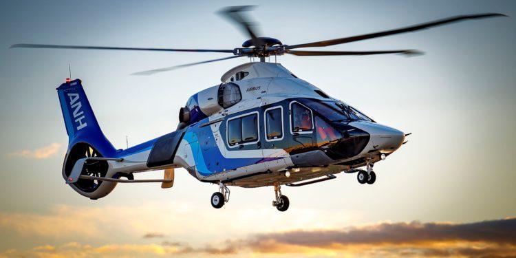 All Nippon Helicopter'in H160'ı ilk uçuşu yaptı