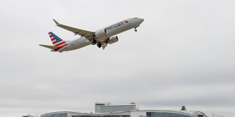 American Airlines, 450'den fazla seferini MAX ile yaptı
