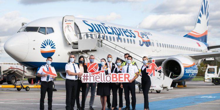 SunExpress, BER Terminal-1'den uçuş yapan ilk havayolu olacak