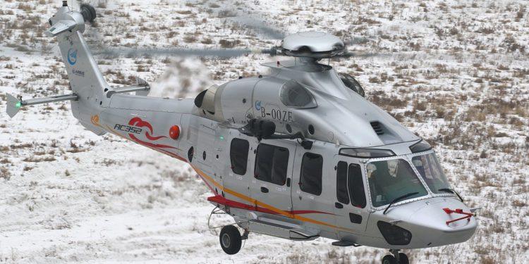 Çin'in geliştirdiği helikopter önemli testi geçti