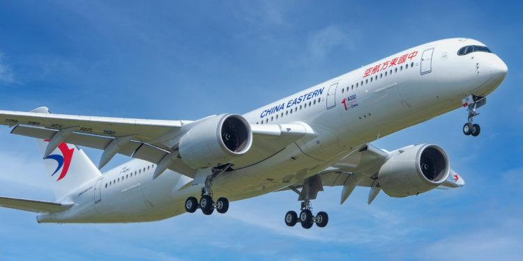 Airbus Çin'deki tesislerinde ilk A350'nin üretimini tamamladı