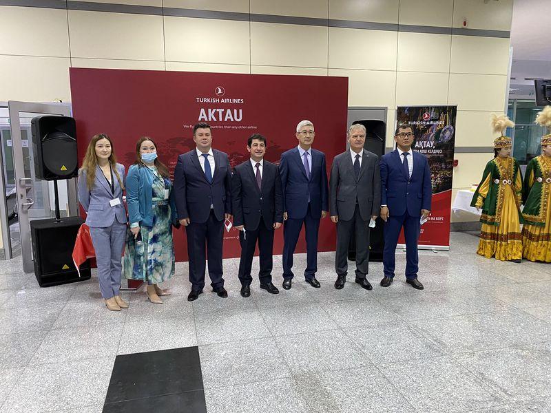 THY, Kazakistan'ın Aktau şehrine uçmaya başladı